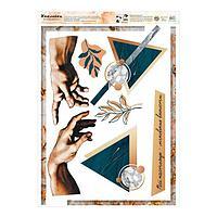 Наклейка виниловая 'Сотворение Адама', интерьерная, 50 х 70 см