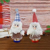 Конфетница 'Дед Мороз', цвета МИКС