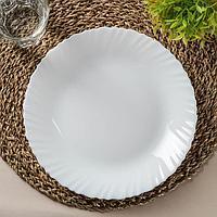 Тарелка обеденная (подставная) Feston, d25 см (комплект из 6 шт.)
