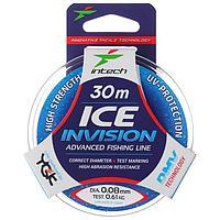 Леска Intech Invision Ice Line 0,08, 30 м