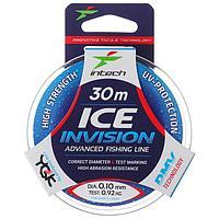 Леска Intech Invision Ice Line 0,10, 30 м