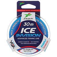 Леска Intech Invision Ice Line 0,14, 30 м