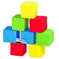 Набор мягких кубиков '4 цвета'
