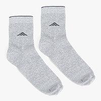 Носки мужские, цвет светло-серый, размер 27-29