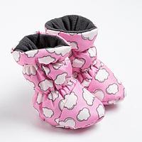 Пинетки-сапожки для девочки, цвет розовый (6-12 месяцев)