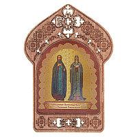 Икона 'Святые Александр и Евфимий'. Помощь и защита работников сферы недвижимости