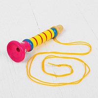 Музыкальная игрушка 'Дудочка на веревочке', высокая, цвета МИКС