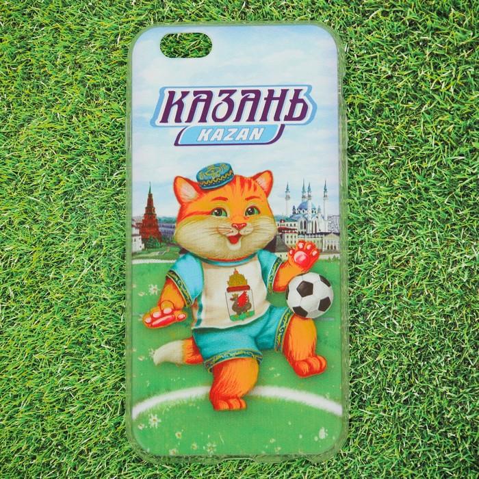 Чехол для телефона iPhone 6 'Казань. Кот' - фото 1