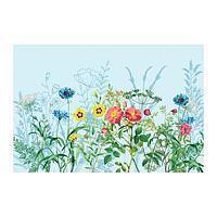 Наклейка виниловая для кухни 'Полевые цветы', интерьерная, 60 х 90 см