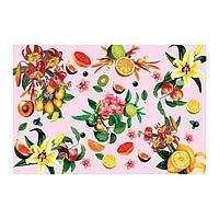 Наклейка виниловая для кухни 'Фрукты', интерьерная, 60 х 90 см