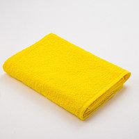 Полотенце махровое Экономь и Я 50х90 см, цв. жёлтый, 320 г/м