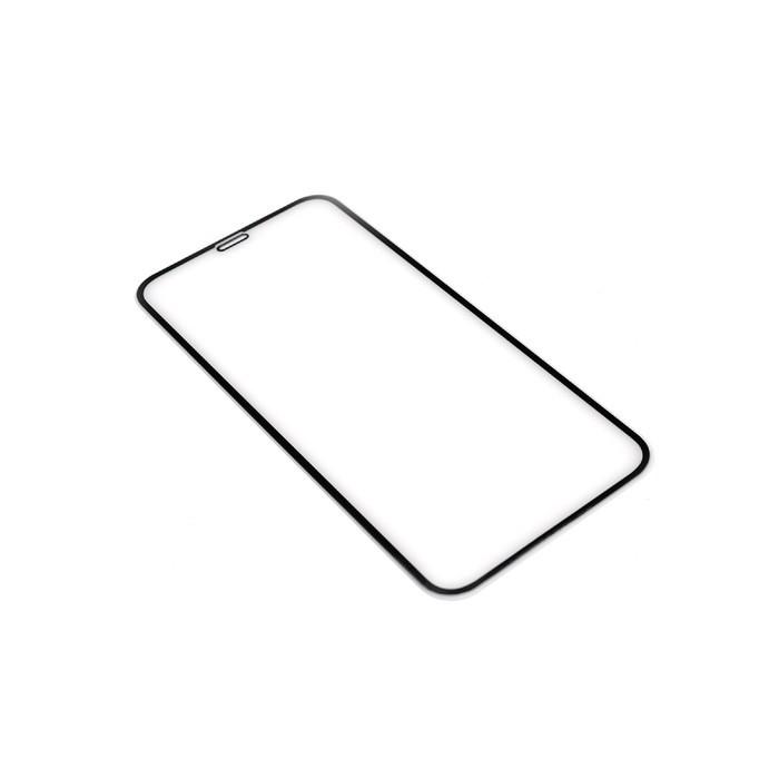Защитное стекло Innovation 2D для Apple iPhone XR/11, полный клей, черная рамка - фото 1
