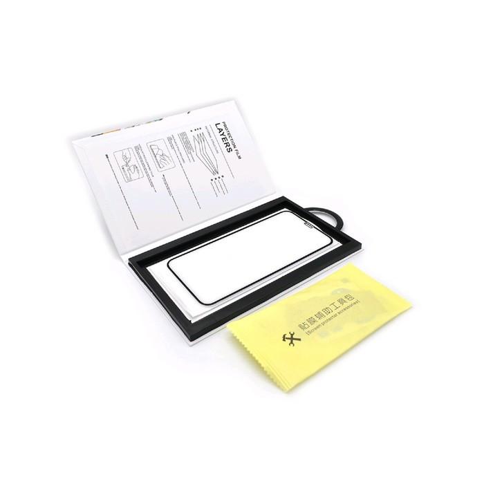 Защитное стекло Innovation 2D для Apple iPhone XR/11, полный клей, черная рамка - фото 3