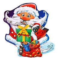 Шнуровка фигурная 'Дедушка Мороз с подарками', 4 элемента
