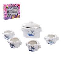 Набор керамической посудки 'К чаю'