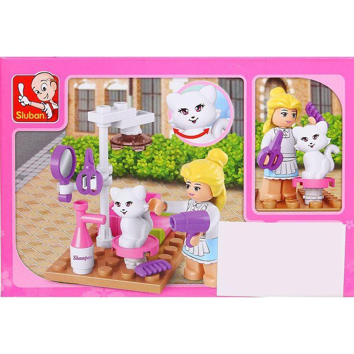 Конструктор 'Розовая мечта салон для кошек', 30 деталей - фото 2