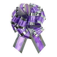Бант-шар 3,2 'Воздушные сердца', цвет фиолетовом