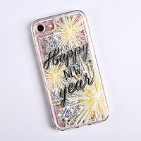 Чехол - шейкер для телефона iPhone 7,8 'Счастливого года', 6,8 х 14,0 см