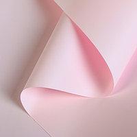 Пленка для цветов 'Перламутр', нежно-розовый, 58 см х 5