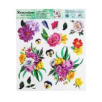 Наклейка виниловая 'Весенний романс', интерьерная, без клея, 30 х 35 см