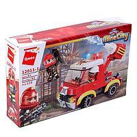Конструктор Пожарные 'Машина', 110 деталей и 2 минифигуры