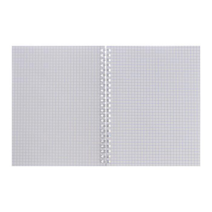 Тетрадь 80 листов в клетку 'Ты и я', обложка мелованный картон, тиснение фольгой, блок офсет, МИКС (комплект - фото 6