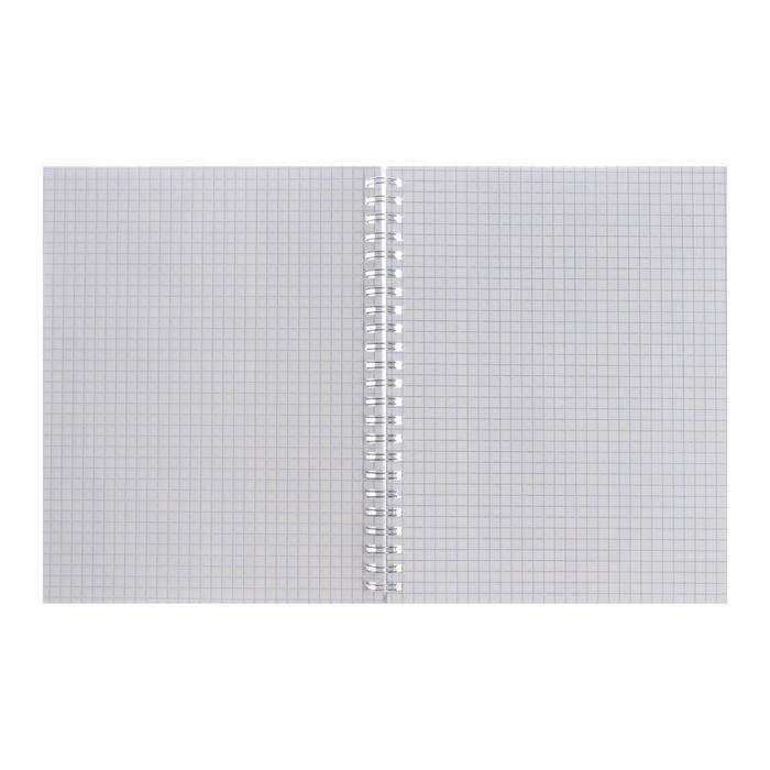 Тетрадь 80 листов в клетку 'Ты и я', обложка мелованный картон, тиснение фольгой, блок офсет, МИКС (комплект - фото 7