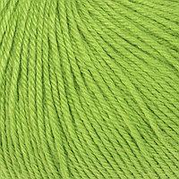 Пряжа 'Baby Wool' 20 кашемир, 40 меринос. шерсть, 40 акрил 175м/50гр (821 яр. зелёный)