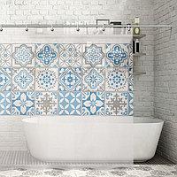 Штора для ванной комнаты Доляна 'Луиза', 180x180 см, EVA