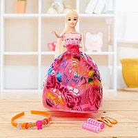 Кукла-модель 'Марина' в платье, с аксессуарами, МИКС