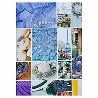 Тетрадь А4, 48 листов в клетку 'Коллаж', обложка мелованный картон, блок офсет (комплект из 3 шт.)