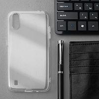 Чехол Innovation, для Samsung Galaxy A01, силиконовый, прозрачный