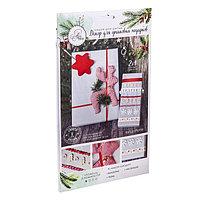 Декор для упаковки подарков 'Новогоднее удовольствие', набор для шитья, 22 x 33 x 14 см