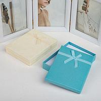 Коробочка подарочная под набор 'Гипюровый бант' дабл, 13*17см, цвет МИКС (комплект из 6 шт.)