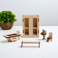 Конструктор 'Ванная' набор мебели