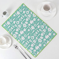 Салфетка для сушки посуды Доляна 'Хозяйственный', 34x50 см, лён