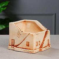 Кашпо 'Южный домик', керамика, 1.2 л
