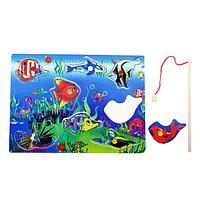 Рыбалка 'Тихий океан', 8 элементов + 1 удочка, оборот рыбок без рисунка