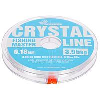 Леска монофильная Allvega Fishing Master CRYSTAL, 30 м, 0,18 мм (3,95 кг)