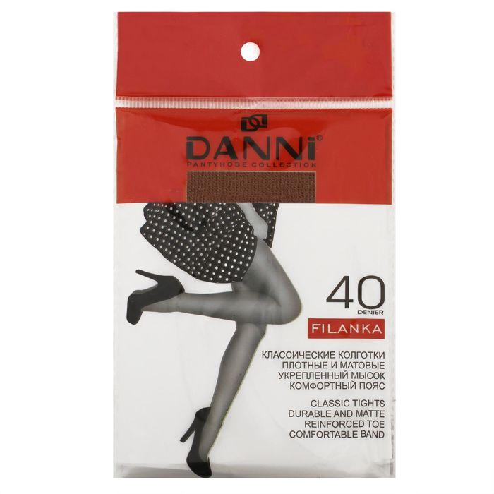 Колготки женские Danni Filanka 40 ден ECONOM цвет телесный, р-р 2 - фото 3