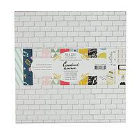 Набор бумаги д/скрапбукинга (13 листов) 'Семейный альбом' 30,5х30,5 см
