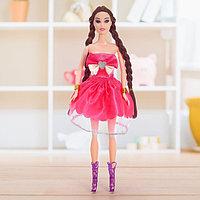 Кукла-модель 'Лера' в платье, МИКС