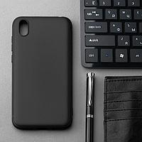 Чехол Innovation, для Huawei Honor 8S/Y5(19), силиконовый, матовый, черный