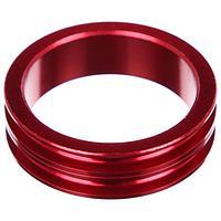 Кольцо проставочное 1-1/8'х10мм SPACER-R, алюминий, цвет красный