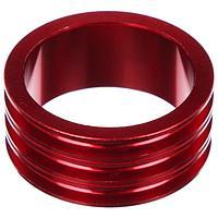 Кольцо проставочное 1-1/8'х15мм SPACER-R, алюминий, цвет красный