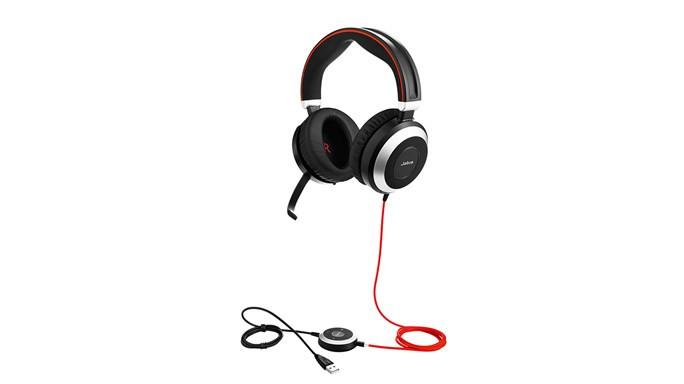 Bluetooth гарнитура Jabra Evolve 80 (SfB)
