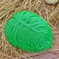 Пластиковая форма для мыла 'Монстера' 7,5х2,5х9 см