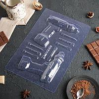 Форма для шоколада 'Шуруповерт'
