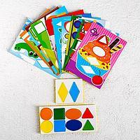 Мозаика для детей с шаблонами 'Мир вокруг'