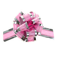Бант-шар 5 'Воздушные сердца', цвет розовый